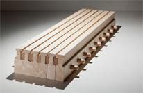 Massivholzmauer-Akustik