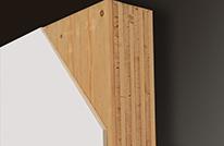 Massivholzmauer-Element